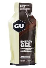 GU GU Energy Gel Espresso Love single