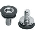 Problem Solvers 8mm Hex Crank Arm Fixing Bolt & Cap Pair
