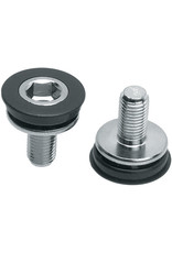Problem Solvers 8mm Hex Crank Arm Fixing Bolt & Cap Pair