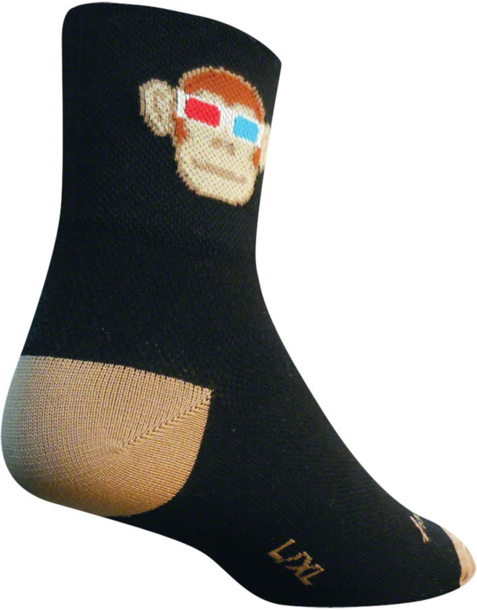 SockGuy Sock Guy Monkey See 3D S/M