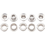 Problem Solvers Problem Solvers Sngl 6mm Cring bolts alloy Silver set/5