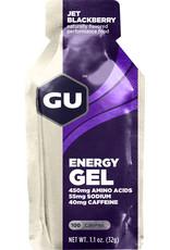 GU GU Energy Gel: Jet Blackberry; single