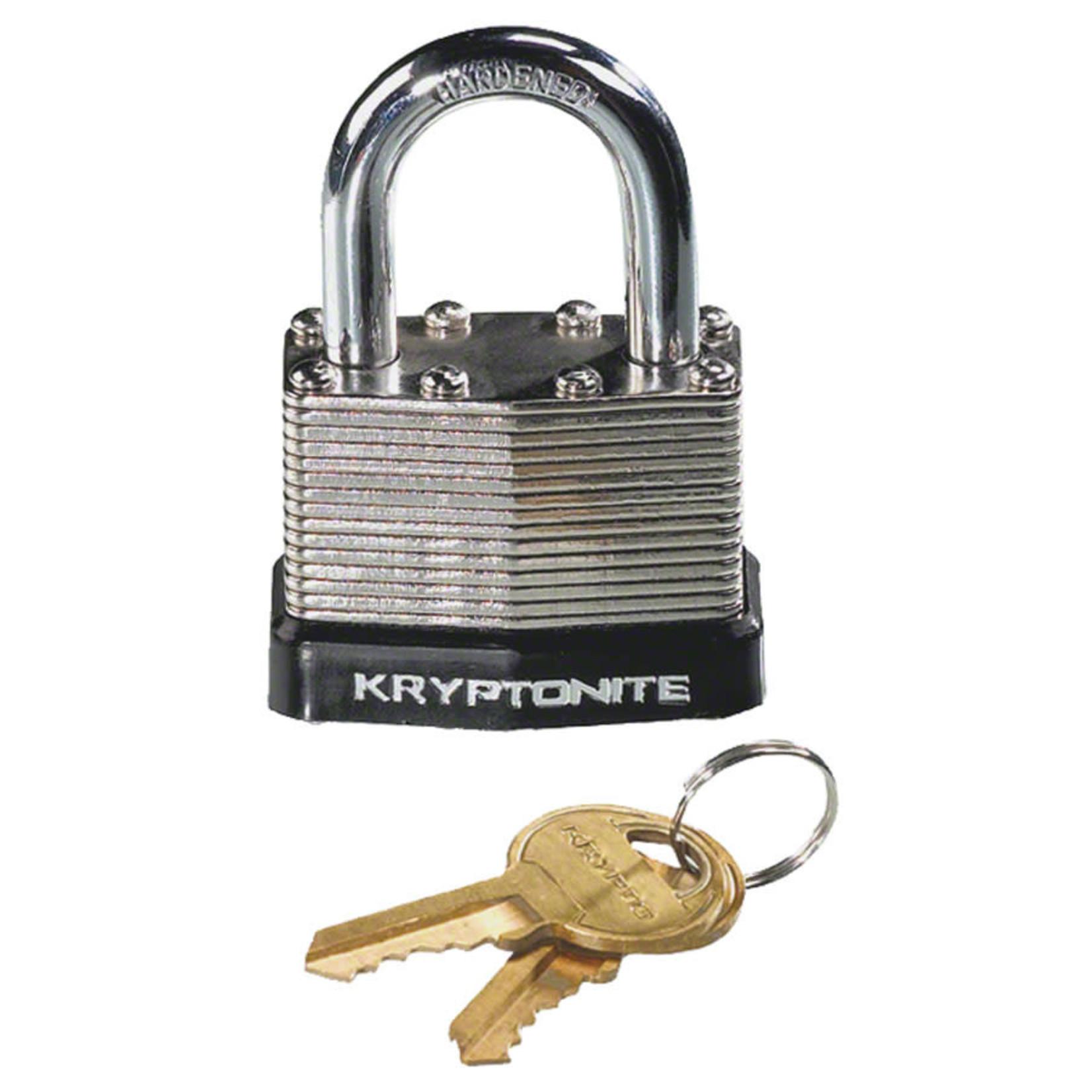 Kryptonite Kryptonite Laminated Steel Padlock with Flat Key