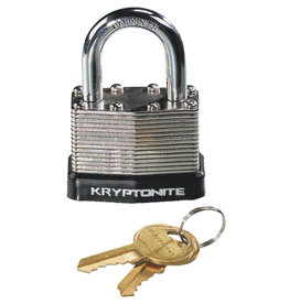 Kryptonite Kryptonite Laminated Steel Padlock with Flat Key