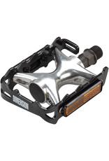"""Dimension Dimension Compe Pedals Black/Silver 9/16"""""""