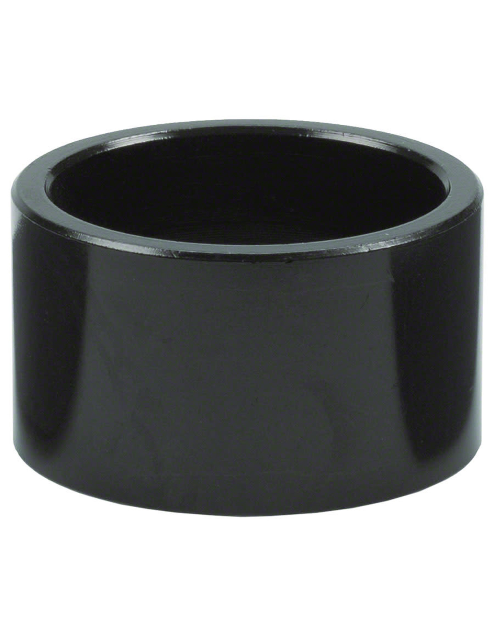 """Wheels Manufacturing 20mm 1-1/8""""  Headset Spacer Black Each"""