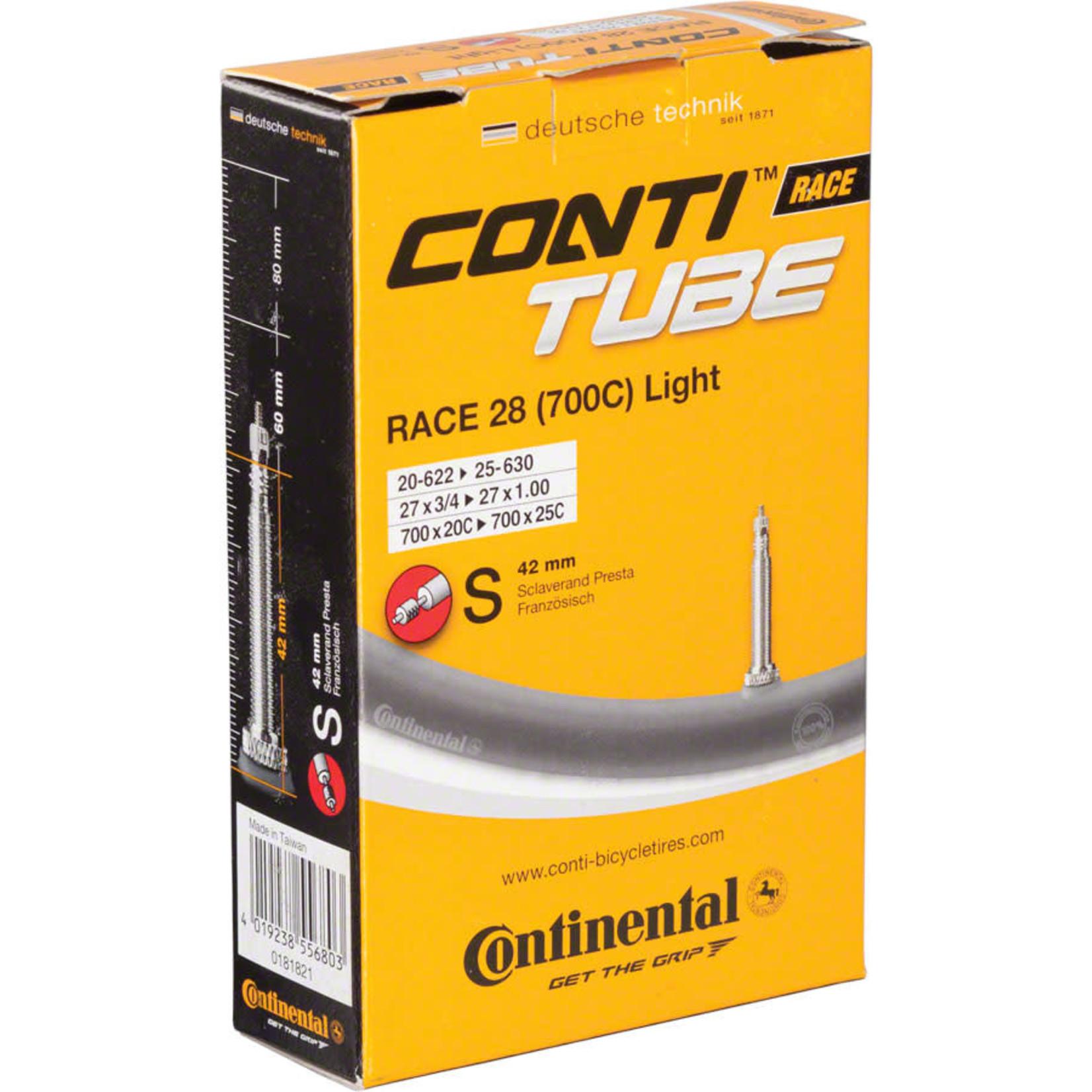 Continental Continental Light 700 x 18-25mm 42mm Presta Valve Tube