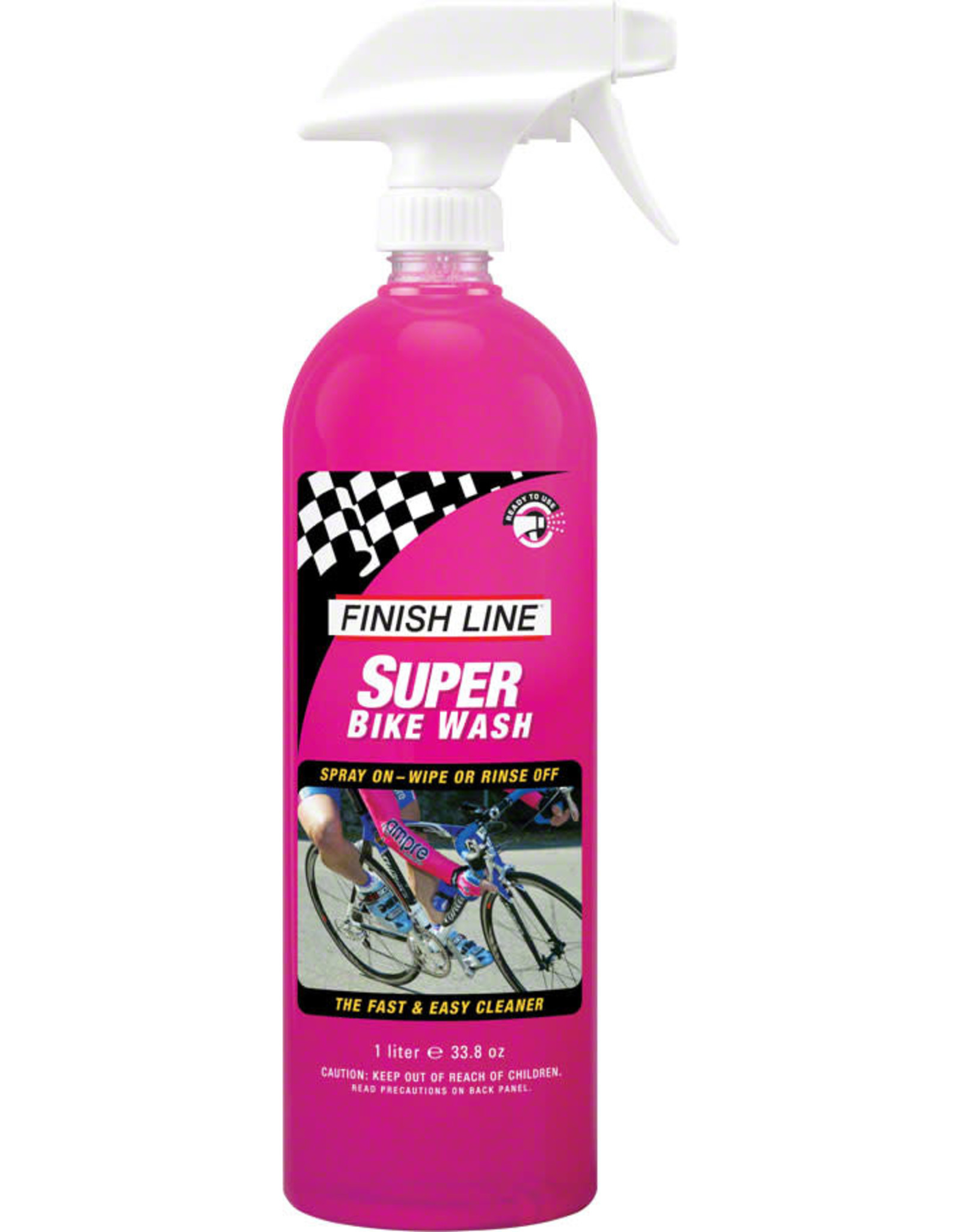 Finish Line Finish Line Super Bike Wash: 34 oz. Hand Spray Bottle