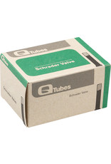 "Q-Tubes Q-Tubes Value Series Tube with Low Lead Schrader Valve: 20"" x 1.75-2.125"""