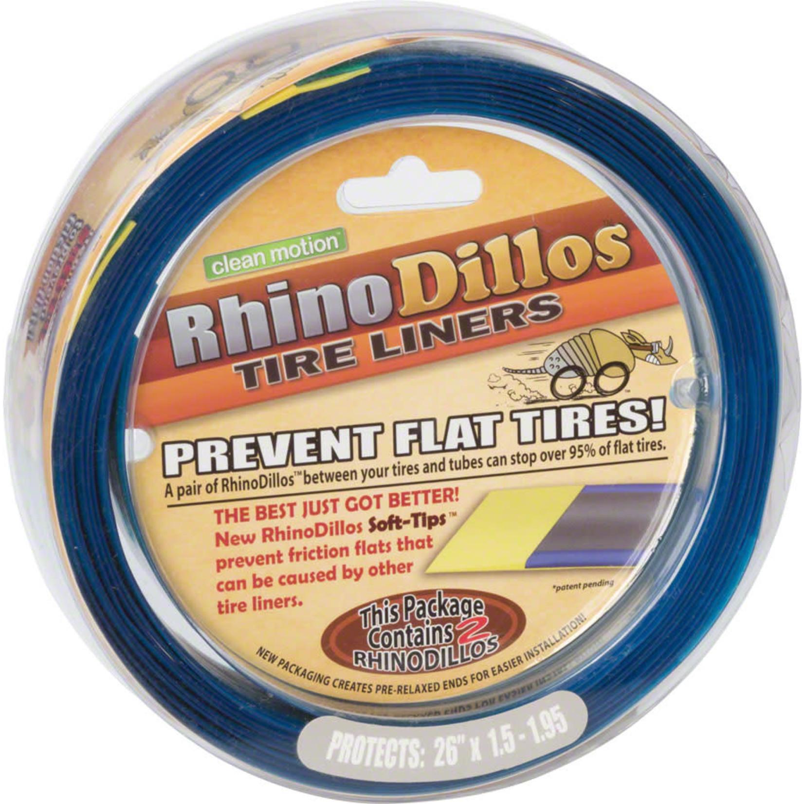 Rhinodillos Rhinodillos Tire Liner: 700 x 23-25, Pair