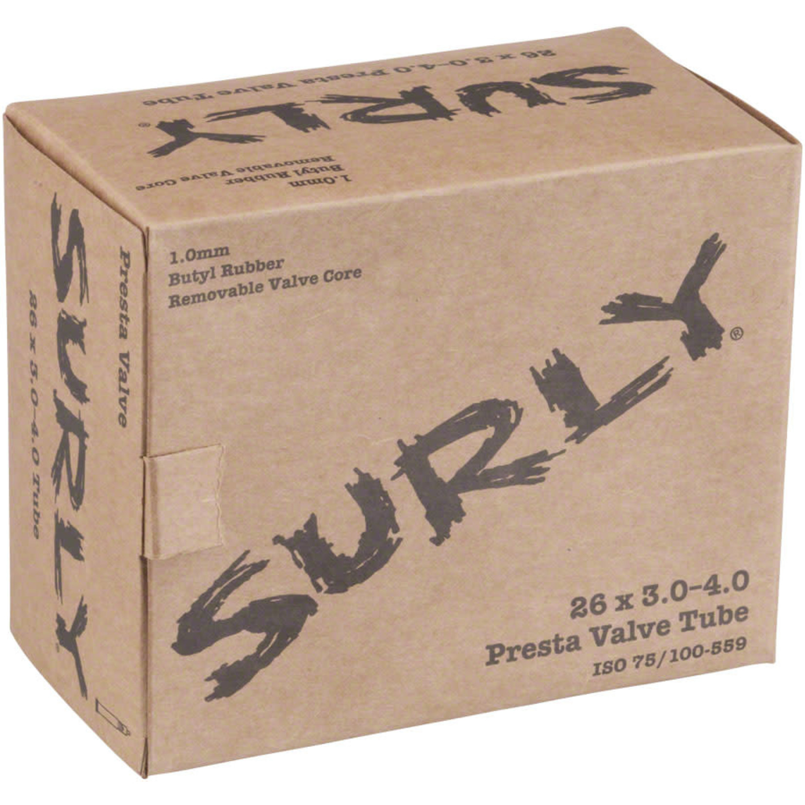 """Surly Surly Fat Bike Tube 26 x 3.0-4.0"""" Presta Valve"""