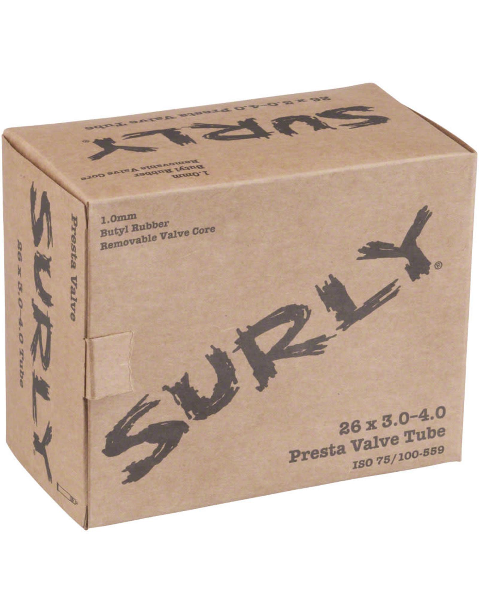"""Surly Surly Inner Tube, 26"""" x 3.0"""" -4.0"""", Presta Valve"""