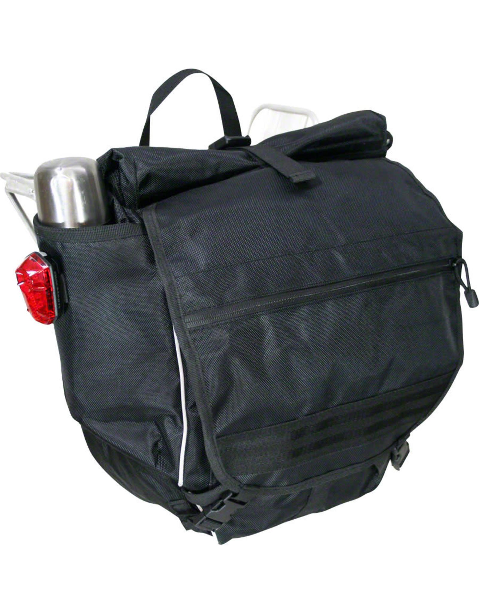 Banjo Brothers Banjo Brothers Waterproof Backpack Pannier: Black