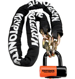 Kryptonite Kryptonite New York Chain 1217 and Evolution Disc Lock: 5.5' (170cm)