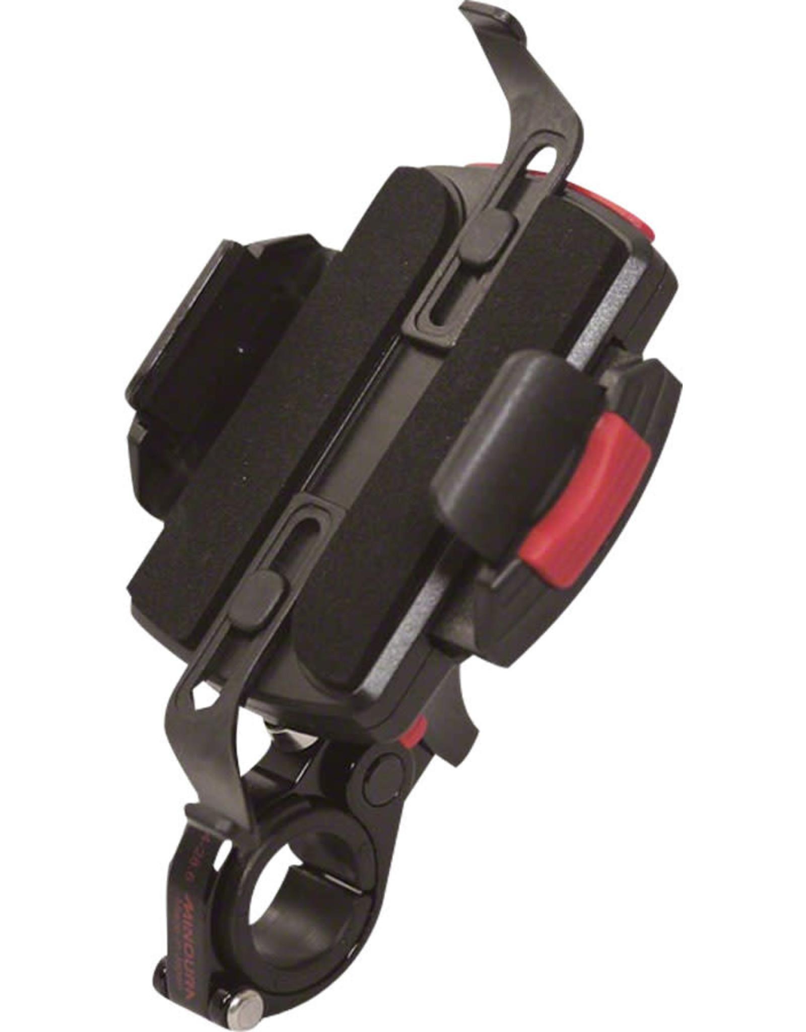 Minoura Minoura Smart Phone Oversize Handlebar Holder: Fits 27.2, 28.6, and 35.0mm