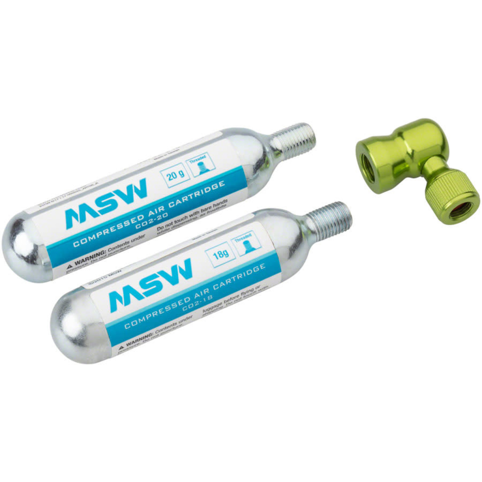 MSW MSW Windstream Twist 20 Kit with two 20g CO2 Cartridges