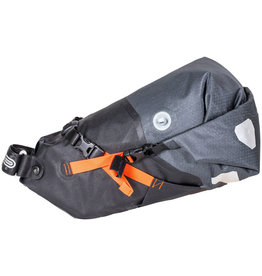 Ortlieb Ortlieb Bike Packing Seat Pack Medium: 11 Liter, Gray/Black