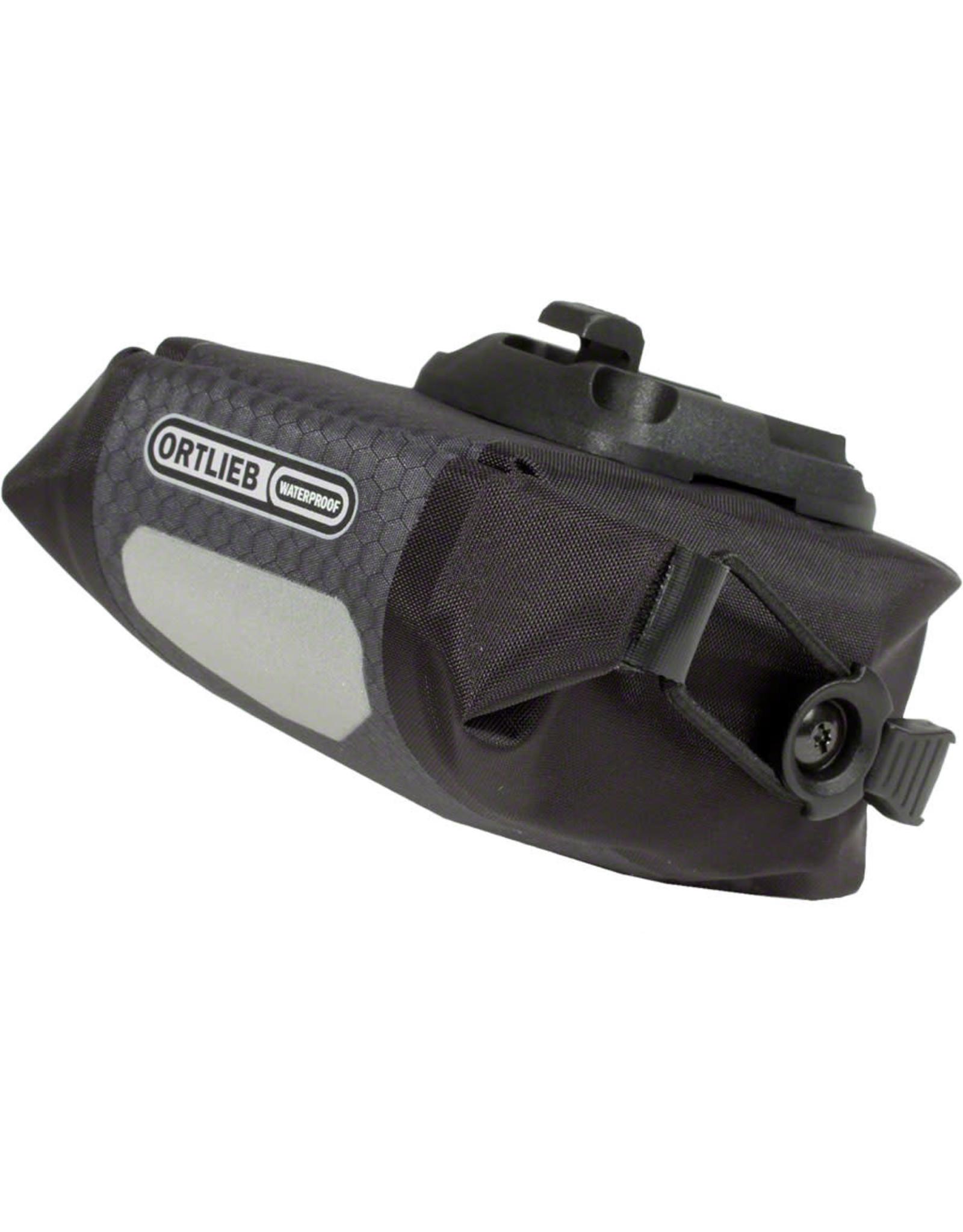 Ortlieb Ortlieb Micro Saddle Bag: Slate/Black