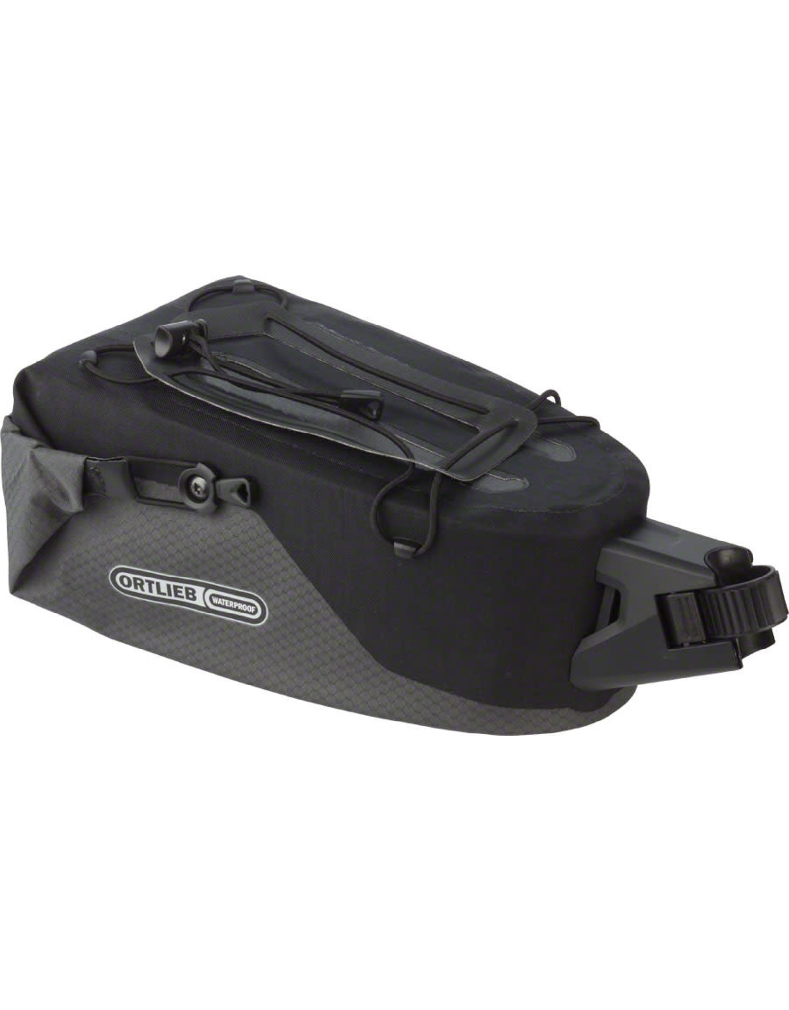 Ortlieb Ortlieb Seatpost Bag: MD, Slate Black
