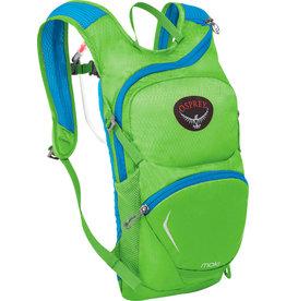 Osprey Osprey Moki 1.5 Kids Hydration Pack: Grasshopper Green, One Size