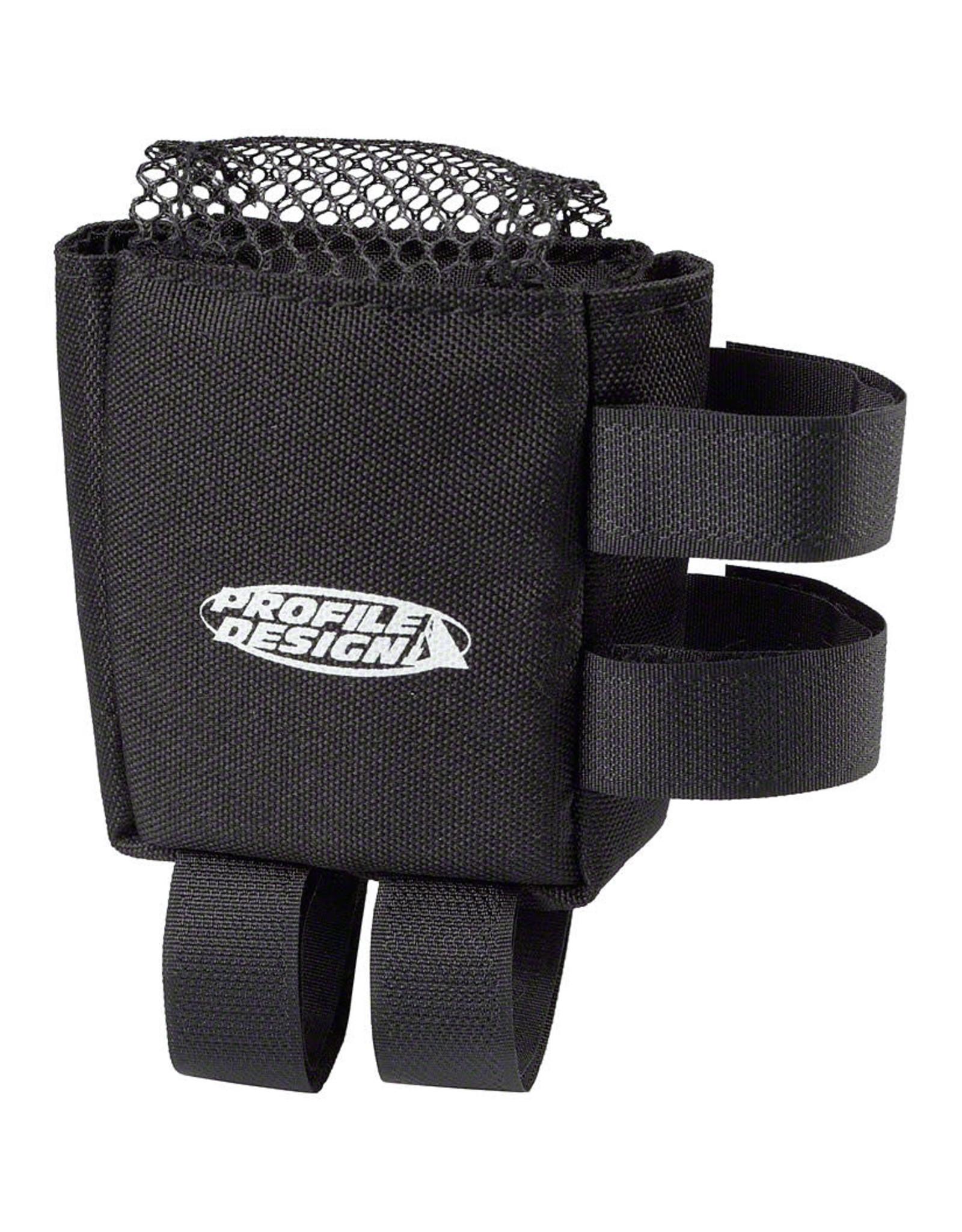 Profile Design Profile Design E-Pack Top Tube Stem Bag Black SM