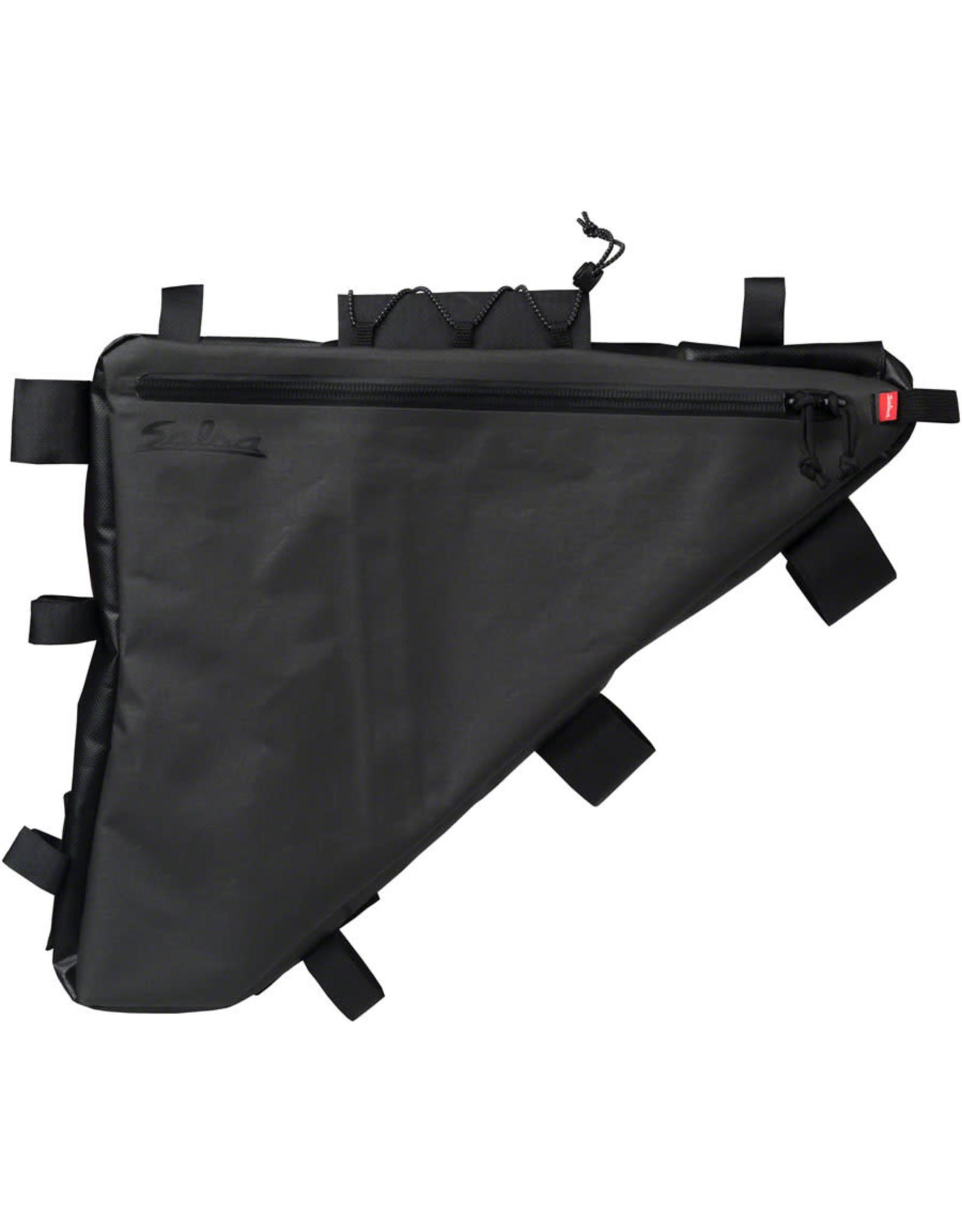Salsa Cycles Salsa Frame Bag (El Mariachi Fargo Mamasita) Black XL