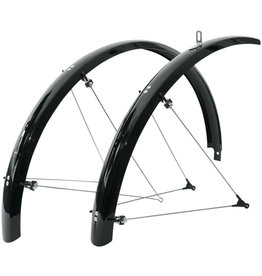 SKS SKS B42 Commuter II Fender Set: Black 700 x 25-35mm