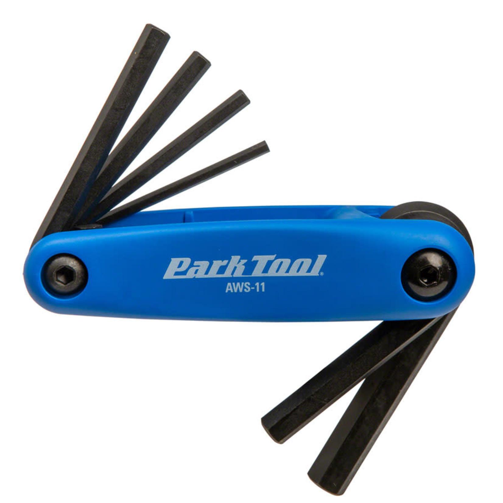 Park Tool Park Tool AWS-11 Metric Folding Hex Wrench Set