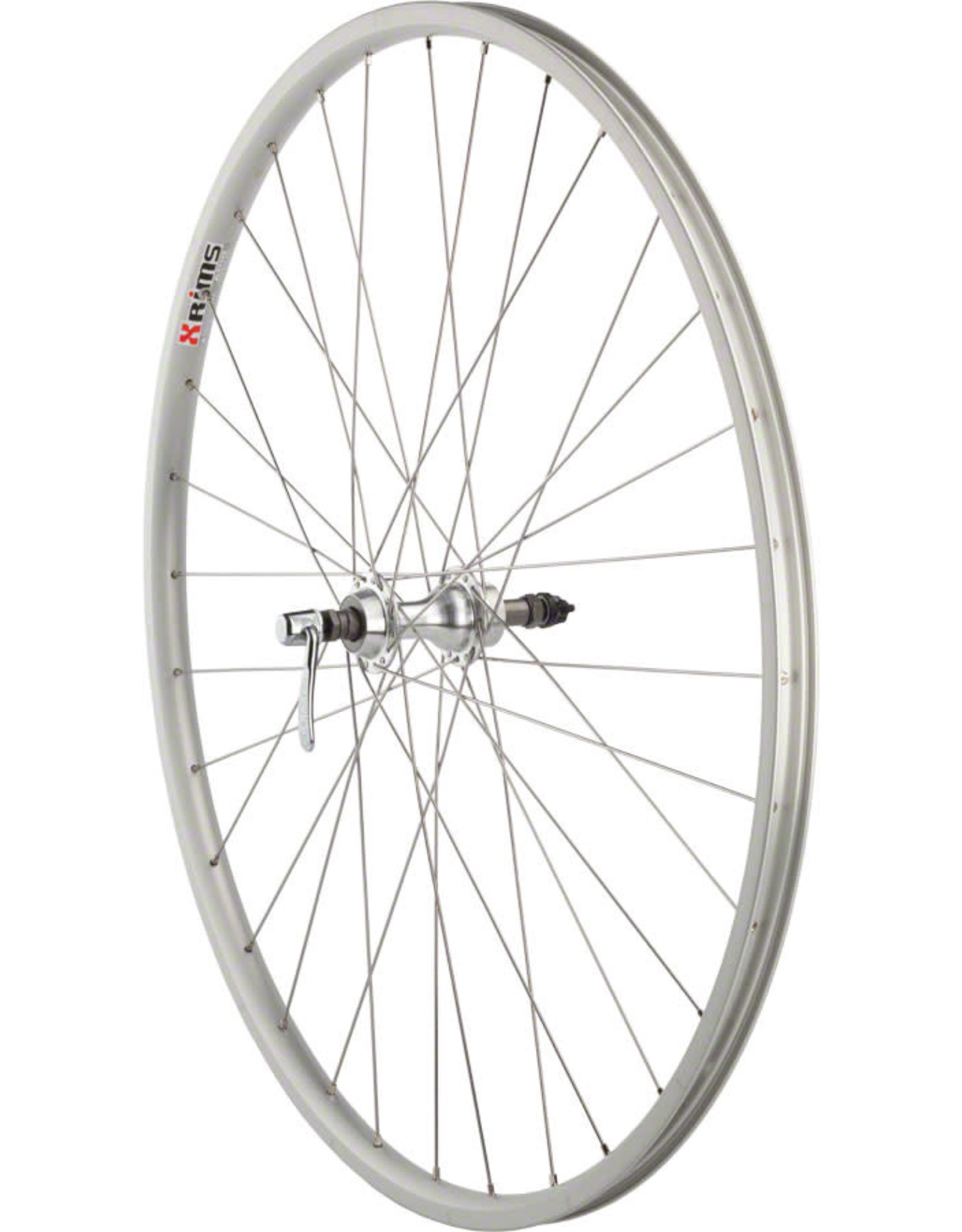 "Dimension Dimension Value Series 1 Rear Wheel 27"" Formula 130mm Freewheel / Alex AP18 Silver"