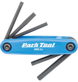 Park Tool Park AWS-9.2 Metric & Screwdriver Folding Wrench Set