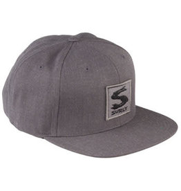 Surly Surly Gray Area Snap Back Hat - Dark Heather Gray, One Size
