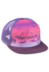Salsa Salsa Purple Daze Trucker Hat - Purple, One Size