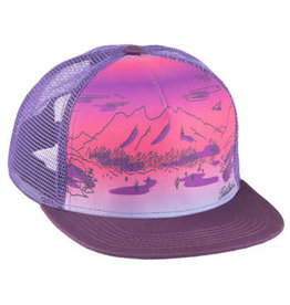 Salsa Salsa Purple Daze Trucker Hat - Purple, One Size
