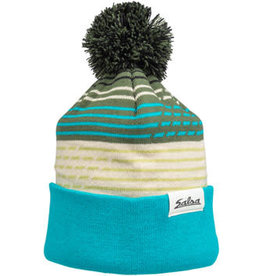 Salsa Salsa Juniper Pom Beanie - Teal, Sage, Tan, Green, Black, One Size