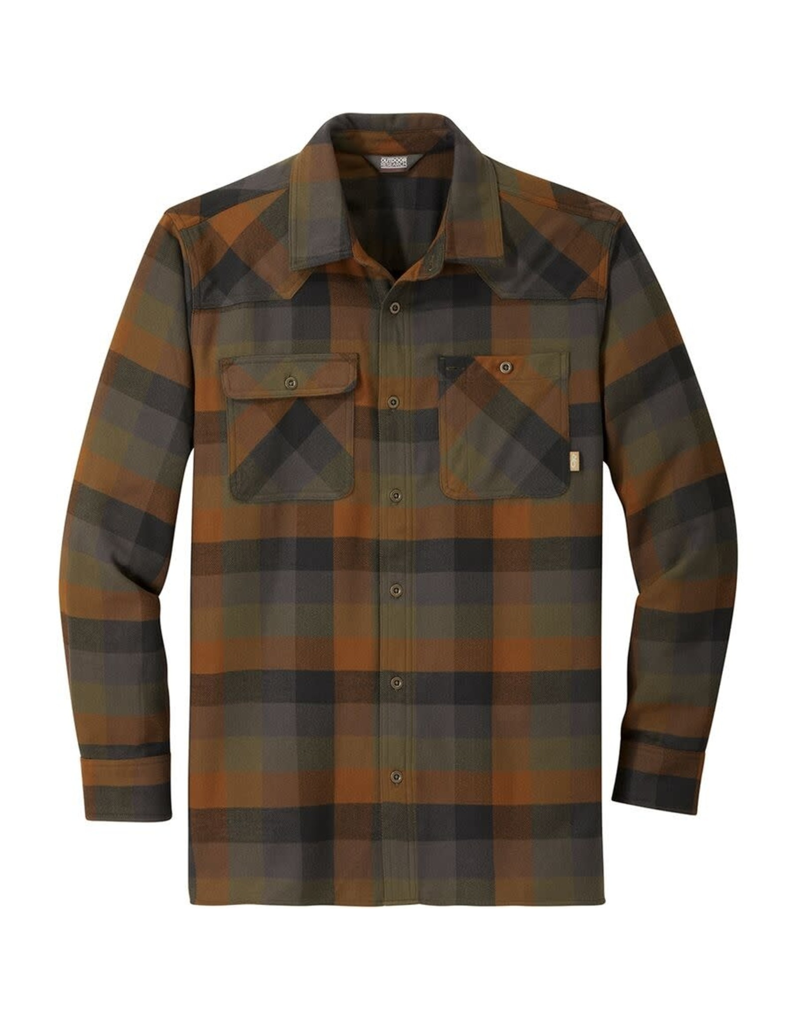 Outdoor Research Outdoor Research Feedback Flannel Shirt Fatigue Pld L