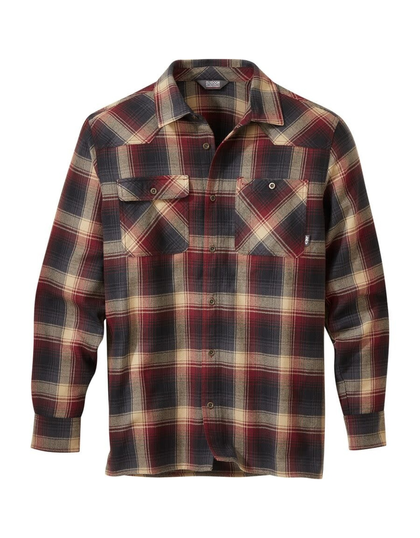 Outdoor Research Outdoor Research Feedback Flannel Shirt Madder Plaid L