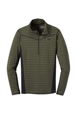 Outdoor Research Outdoor Research Enigma Half Zip Fatg/Bk St XL