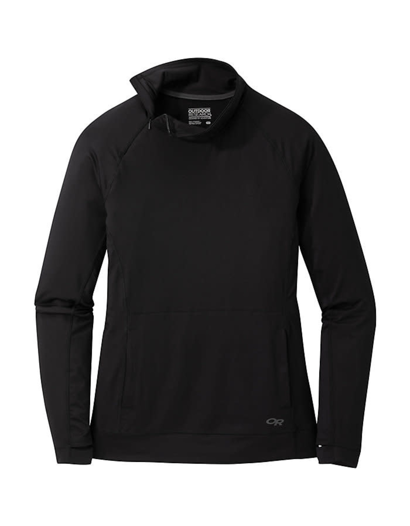 Outdoor Research Outdoor Research Wmn's Chain Reaction Quarter Zip Black L