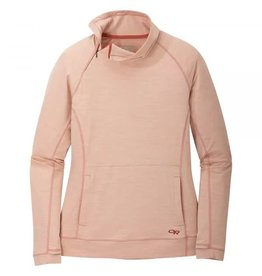 Outdoor Research Outdoor Research Wmn's Chain Reaction Quarter Zip Bluff Heather L