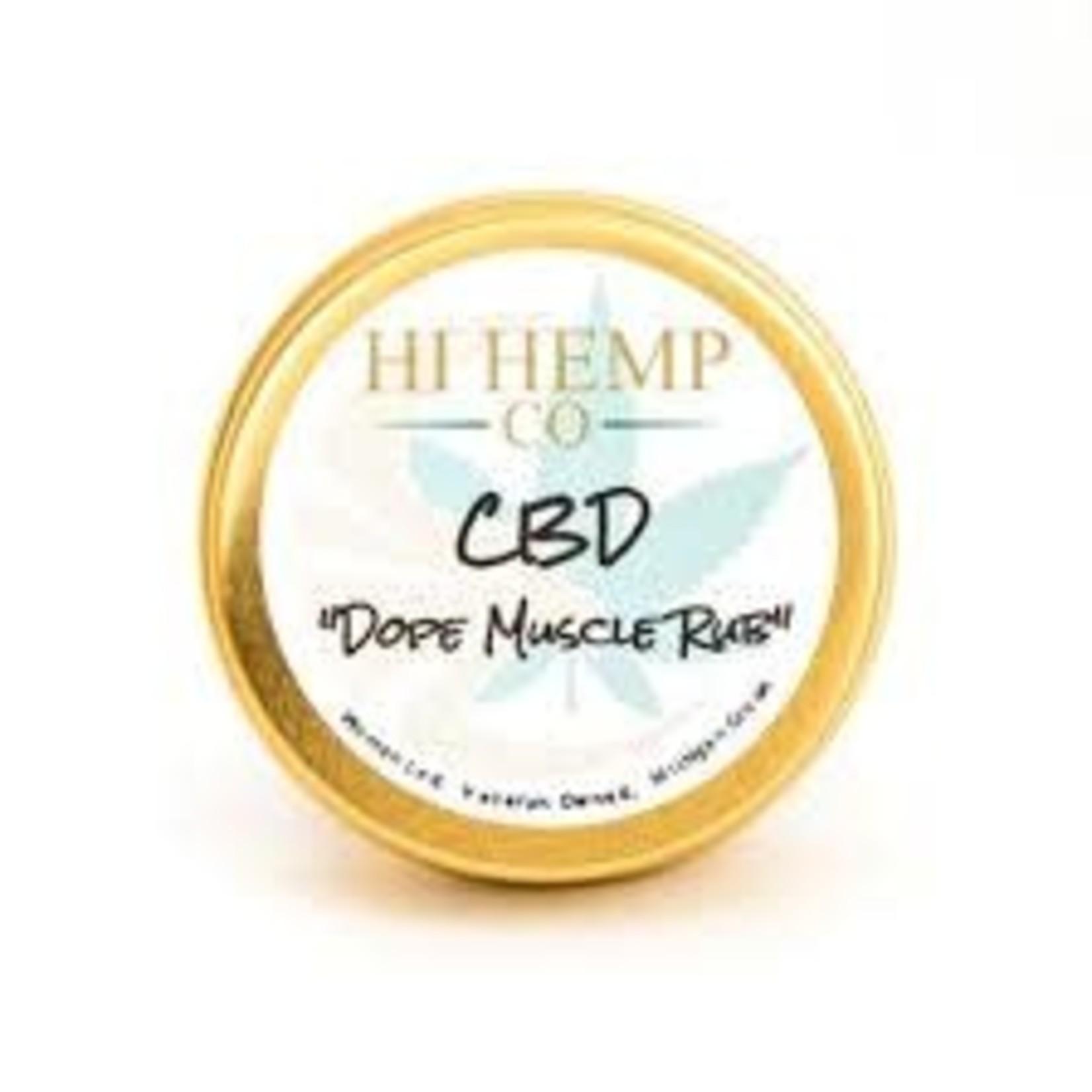 Hi Hemp Co Hi Hemp CBD Dope Muscle Rub 2 oz