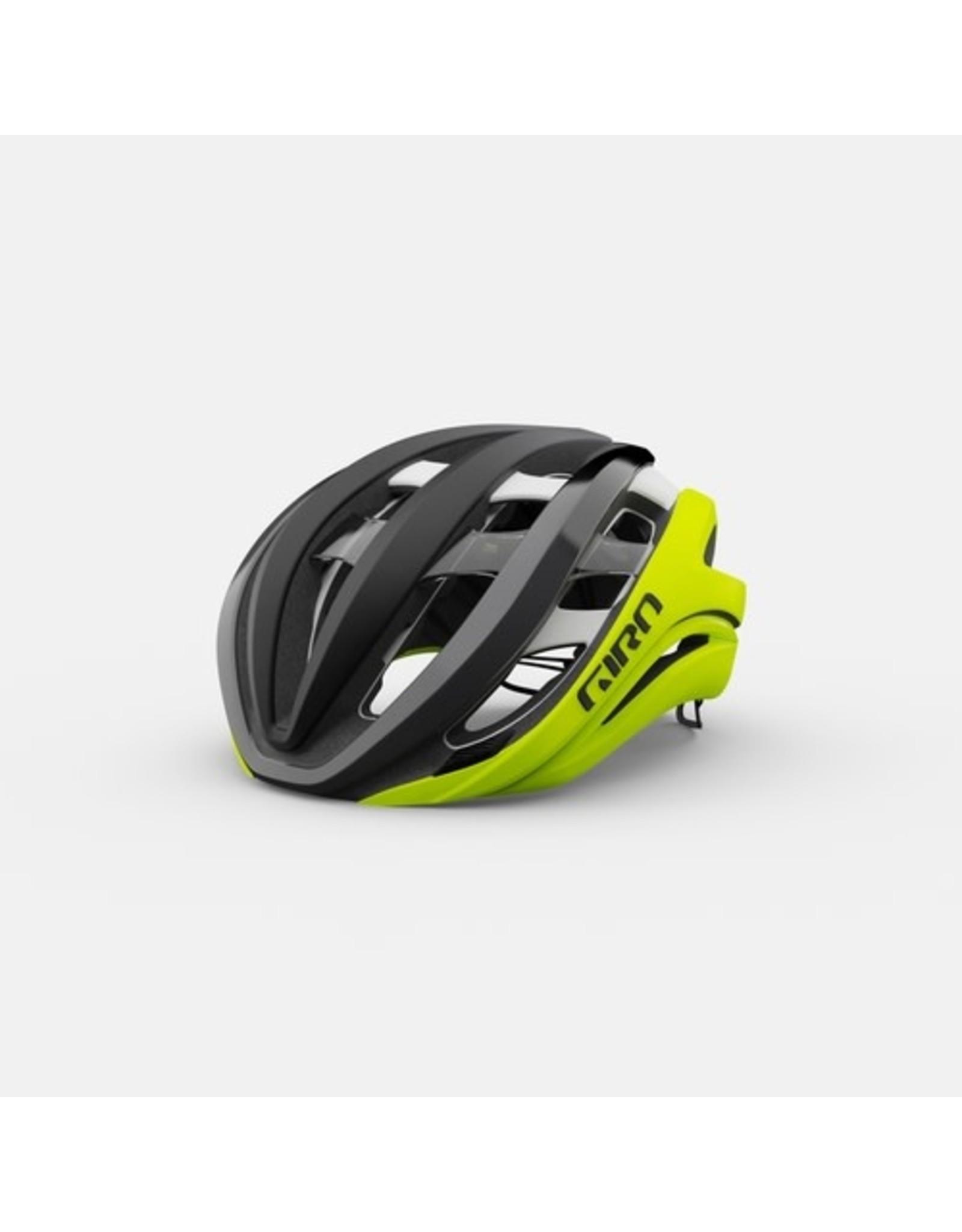 Giro Giro Aether Spherical Matte Black Fade/Highlight Yell M