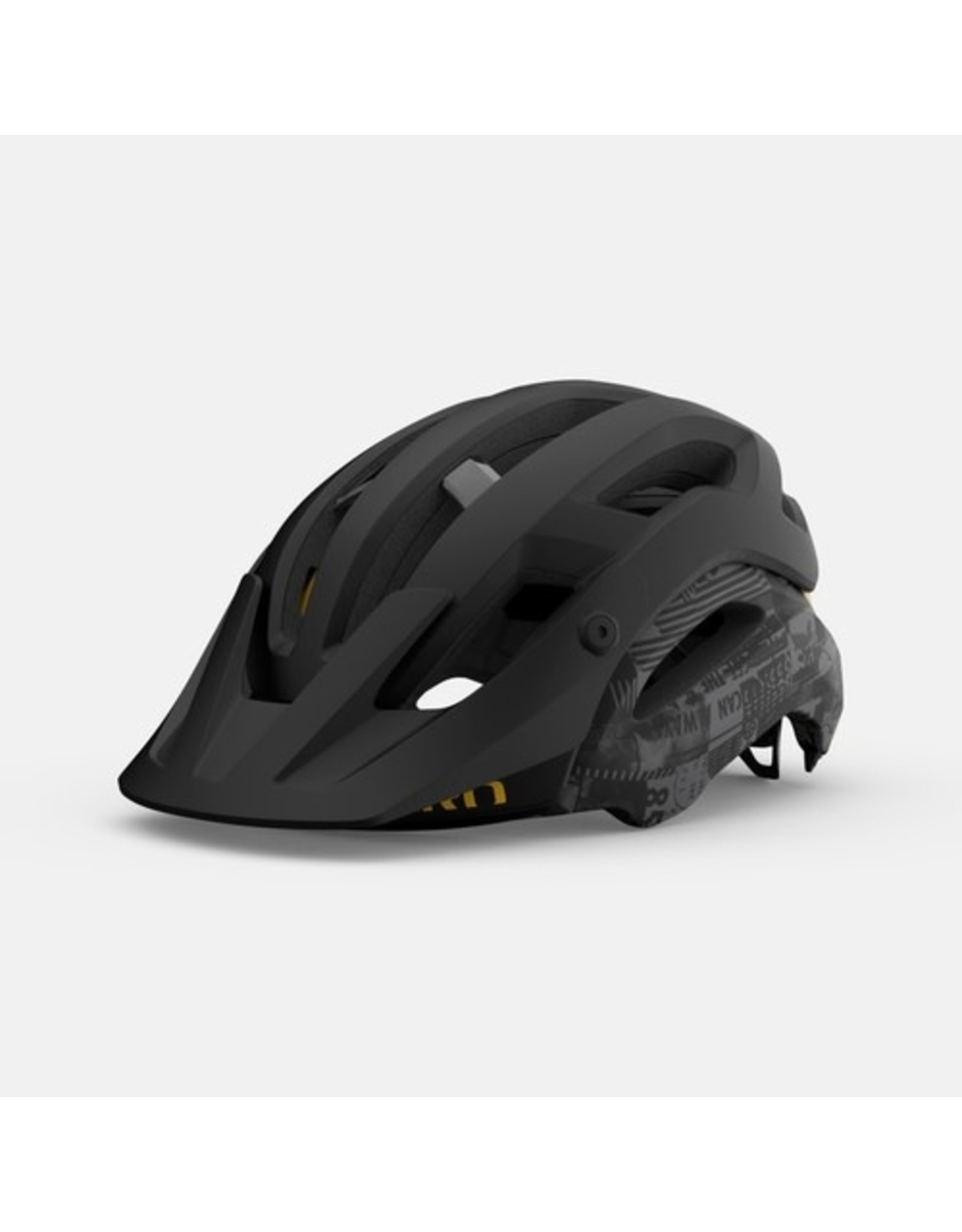 Giro Giro Manifest Spherical Matte Black Hypnotic L