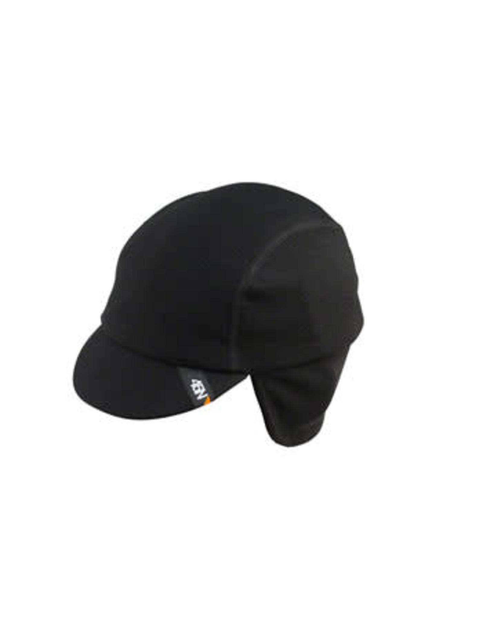 45NRTH 45NRTH Greazy Cycling Cap: Black SM/MD