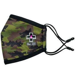 Muc-Off Muc-Off Reusable Face Mask - Woodland Camo, Small