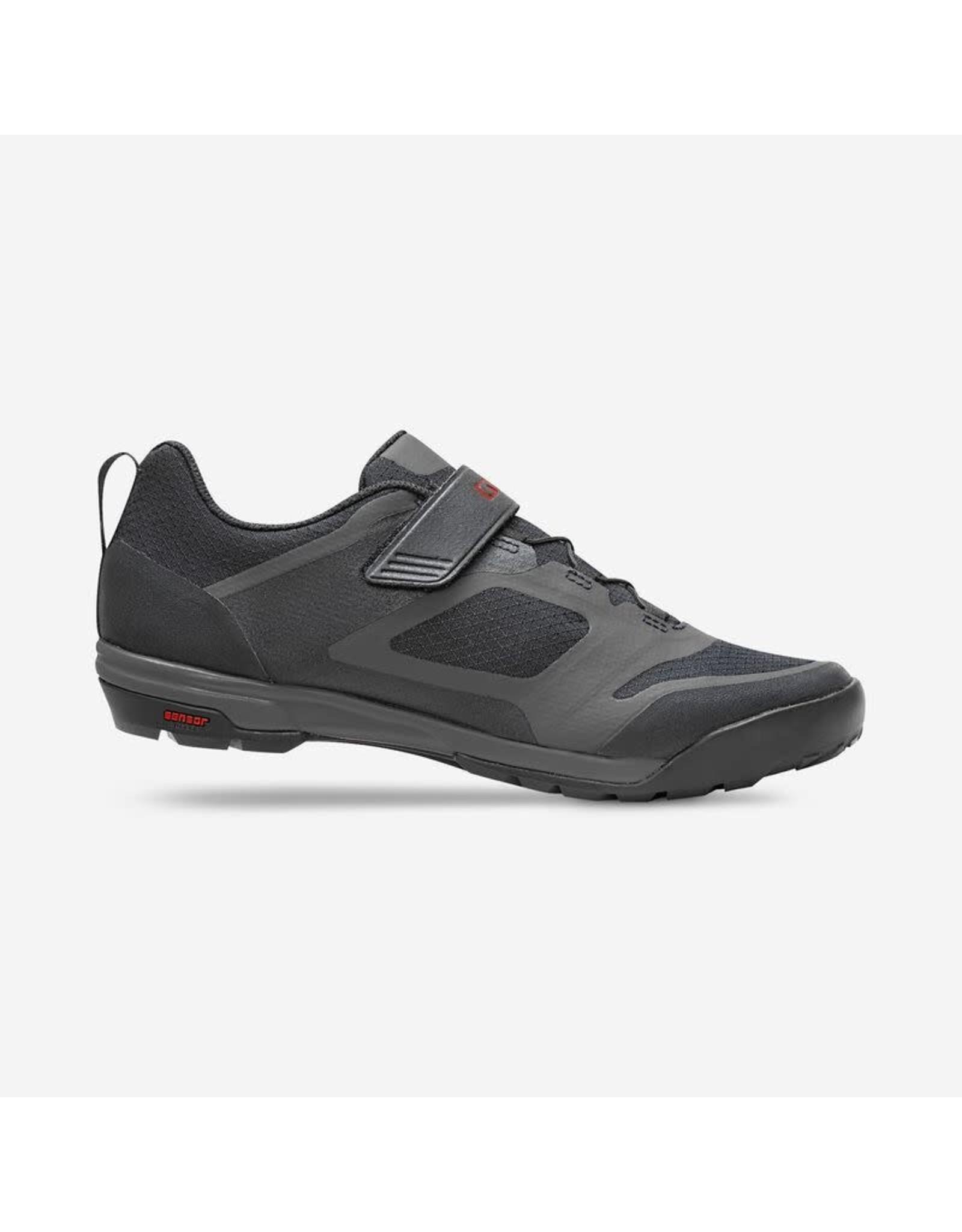 Footwear GIRO VENTANA FASTLACE BLK/DK SHD 44