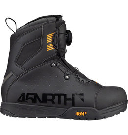 45NRTH 45NRTH Wolvhammer Cycling Boot: BOA Closure Black 41
