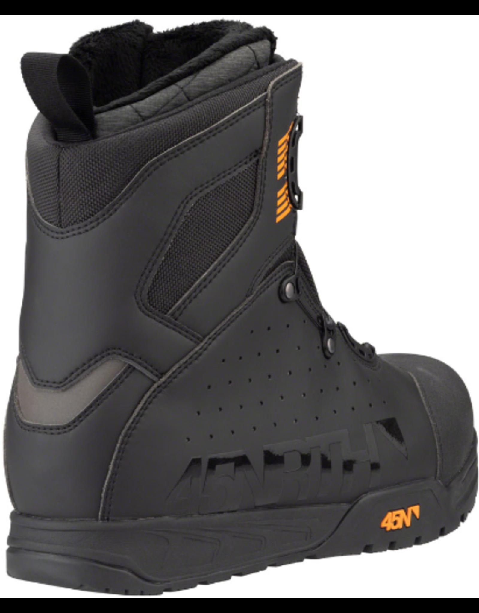 45NRTH 45NRTH Wolvhammer Cycling Boot: BOA Closure, Black, Size 44