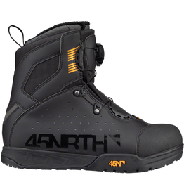 45NRTH 45NRTH Wolvhammer Cycling Boot: BOA Closure Black 42