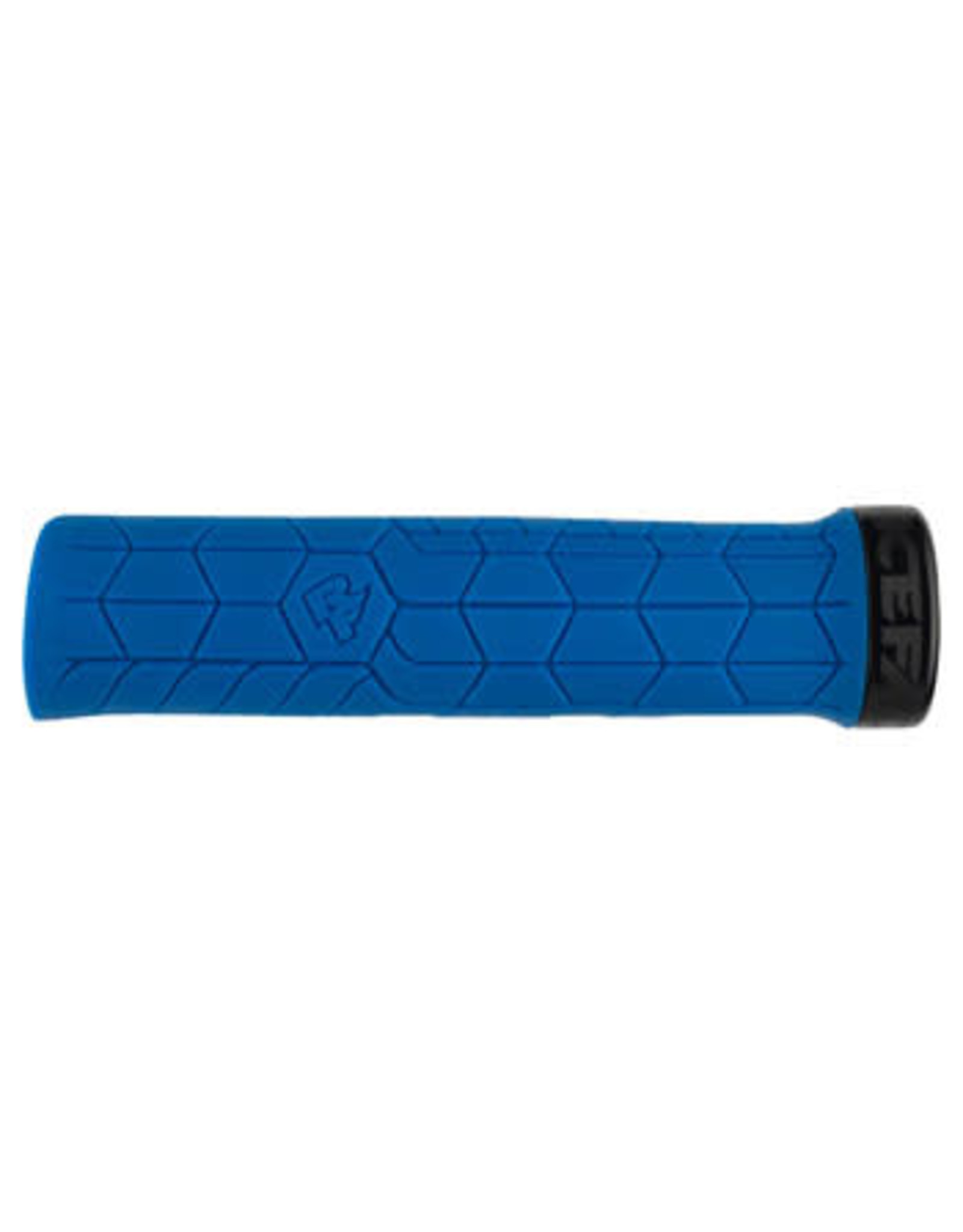 RaceFace RaceFace Getta Grips - Blue, Lock-On, 33mm