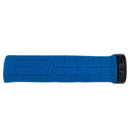 RaceFace RaceFace Getta Grips - Blue, Lock-On, 33mm